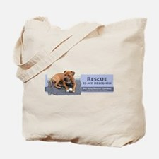 Rescue is my religion Tote Bag