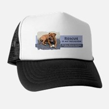 Rescue is my religion Trucker Hat