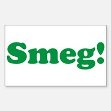 Smeg Rectangle Sticker 10 pk)