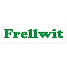 Frellwit Bumper Bumper Sticker