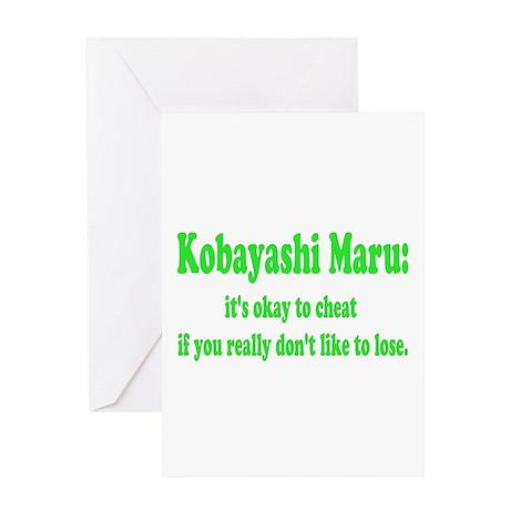 Kobayashi Maru Greeting Card