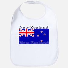 New Zealand Zealander Flag Bib