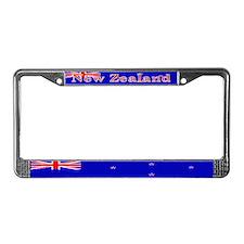 New Zealand Zealander Flag License Plate Frame