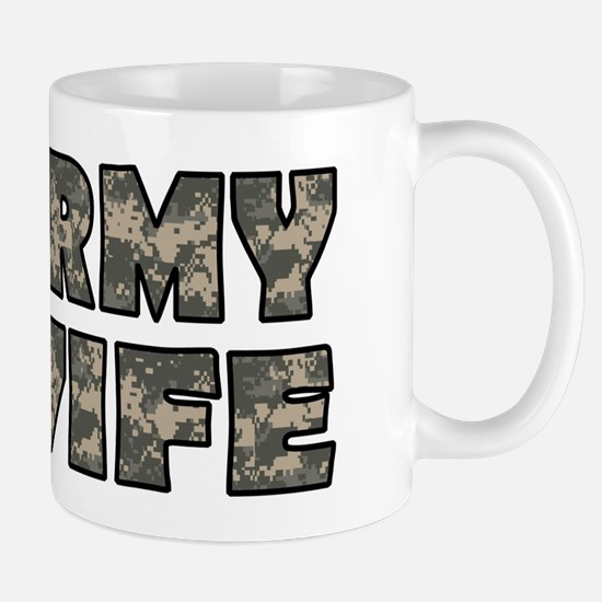 ARMY WIFE Mugs