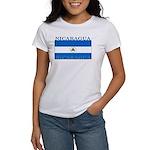 Nicaragua Nicaraguan Flag Women's T-Shirt