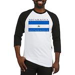 Nicaragua Nicaraguan Flag Baseball Jersey