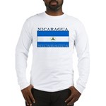 Nicaragua Nicaraguan Flag Long Sleeve T-Shirt
