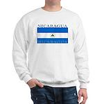 Nicaragua Nicaraguan Flag Sweatshirt