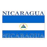 Nicaragua Nicaraguan Flag Postcards (Package of 8)