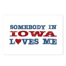Somebody in Iowa Loves Me Postcards (Package of 8)