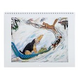 Airedale terrier Wall Calendars