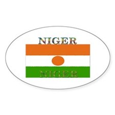 Niger Oval Decal