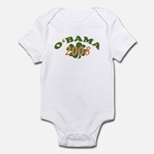 Obama 2008 Shamrock Infant Bodysuit