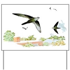 Chimney Swift Yard Sign