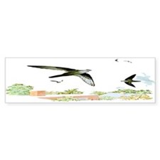 Chimney Swift Bumper Bumper Sticker