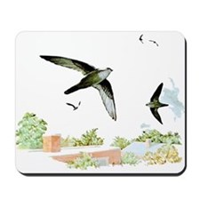 Chimney Swift Mousepad