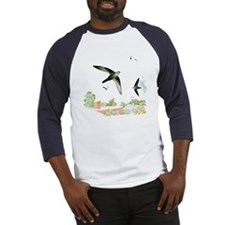 Chimney Swift Baseball Jersey