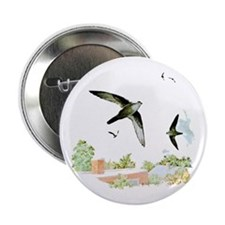 "Chimney Swift 2.25"" Button (10 pack)"