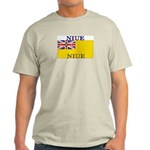 Niue Ash Grey T-Shirt
