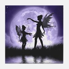 Fairy Sisters Tile Coaster