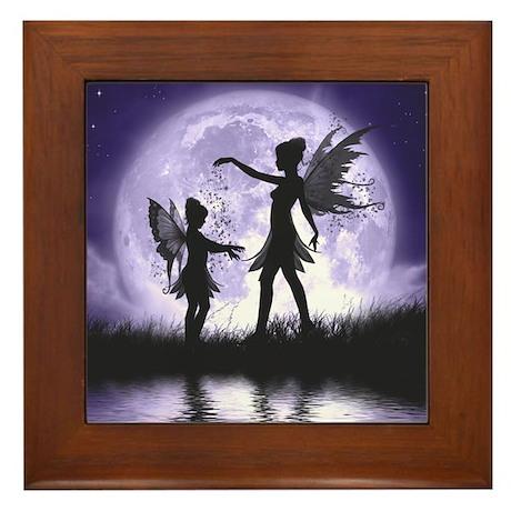 Fairy Sisters Framed Tile