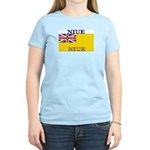 Niue Women's Pink T-Shirt