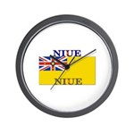 Niue Wall Clock