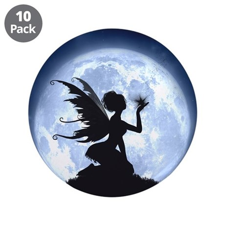 """Catch a Falling Star 3.5"""" Button (10 pack)"""