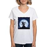 Catch a Falling Star Women's V-Neck T-Shirt