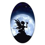 Catch a Falling Star Oval Sticker (50 pk)