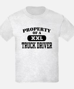 Property of a Truck Driver T-Shirt
