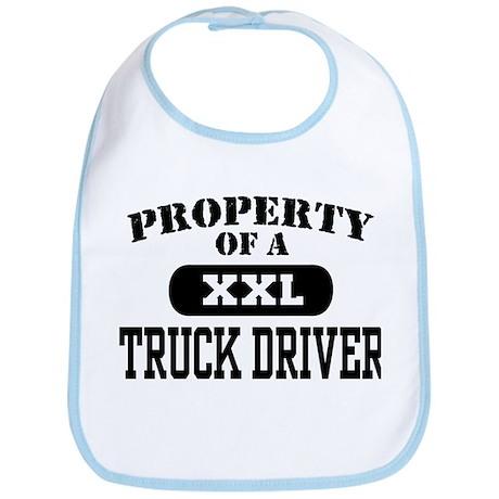Property of a Truck Driver Bib