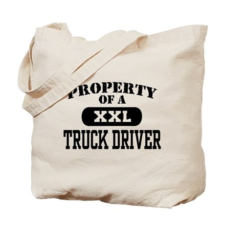 Property of a Truck Driver Tote Bag