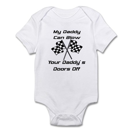 My Daddys Faster Infant Bodysuit