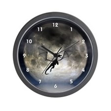 Dragon Moon Wall Clock