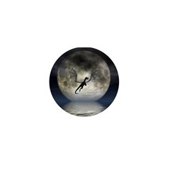 Dragon Moon Mini Button
