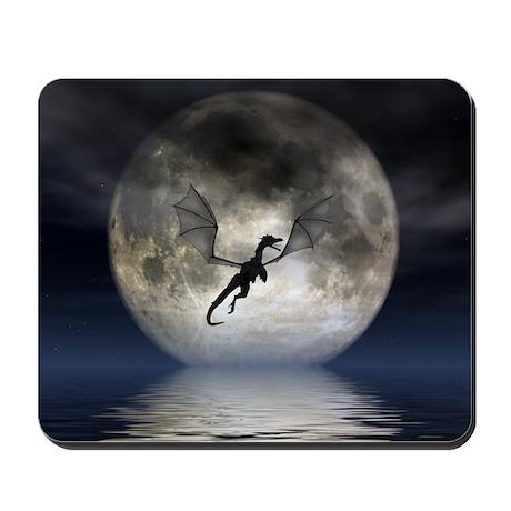 Dragon Moon Mousepad