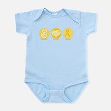Peace Yel Hope Infant Bodysuit