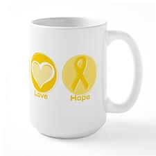 Peace Yel Hope Mug