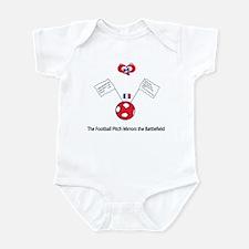 """Whooligan France """"We Surrender"""" Infant Bodysuit"""