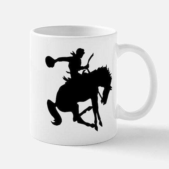 Bucking Bronc Cowboy Mug