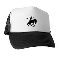 Bucking Bronc Cowboy Trucker Hat