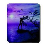 Tranquility (Blue/Purple) Mousepad