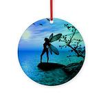 Fantasy Silhouettes Ornament (Round)