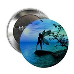 Tranquility ( Teal/Blue ) Button