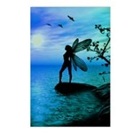 Tranquility ( Teal/Blue ) Postcards (Package of 8)