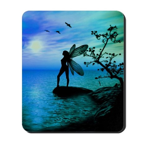 Tranquility ( Teal/Blue ) Mousepad