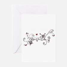 Cute Knitting Greeting Cards (Pk of 10)