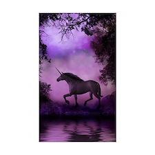 Enchanted Unicorn Rectangle Decal