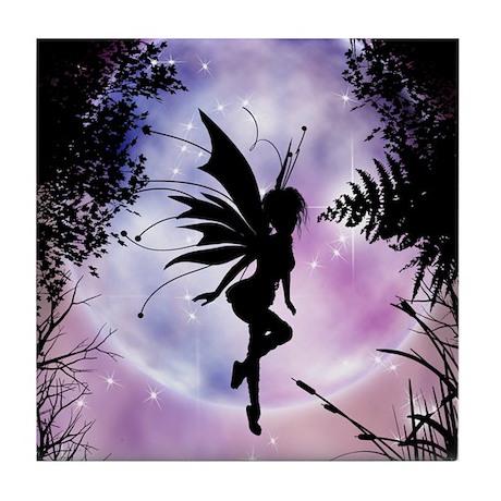 Pixie Dreams Tile Coaster